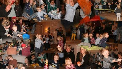 Børnebongo for 1-3-årige i Klim Kirke