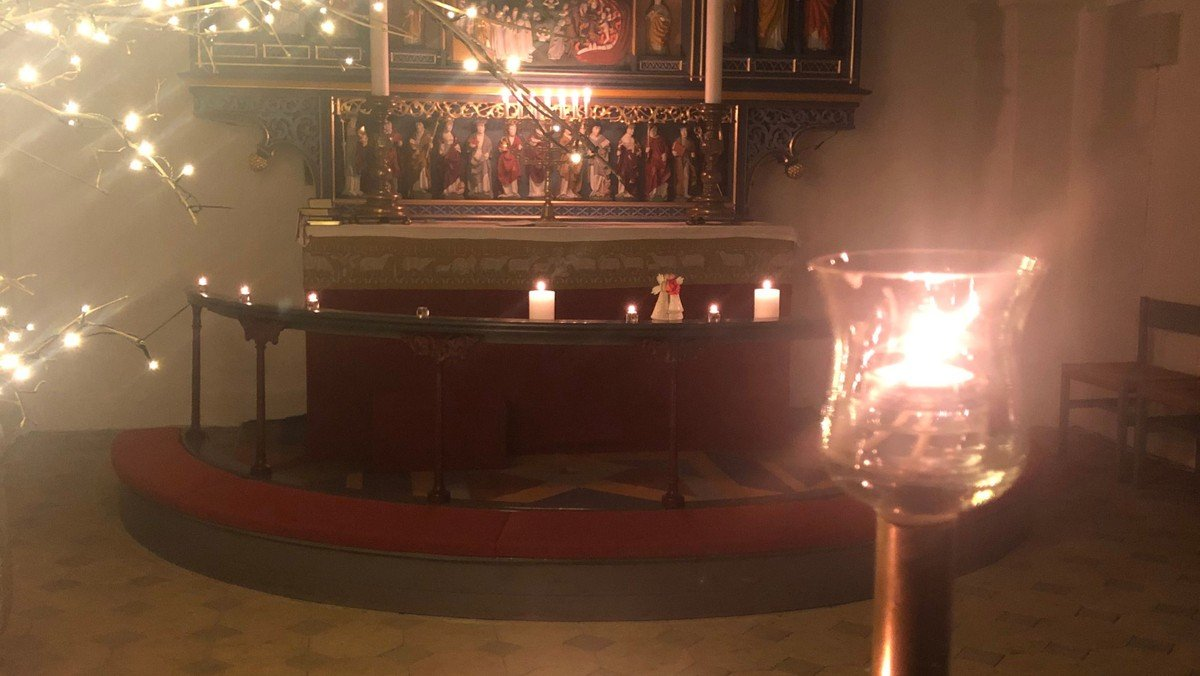 Meditationsgudstjeneste i Tjæreby kirke d. 10.11 kl. 19.30