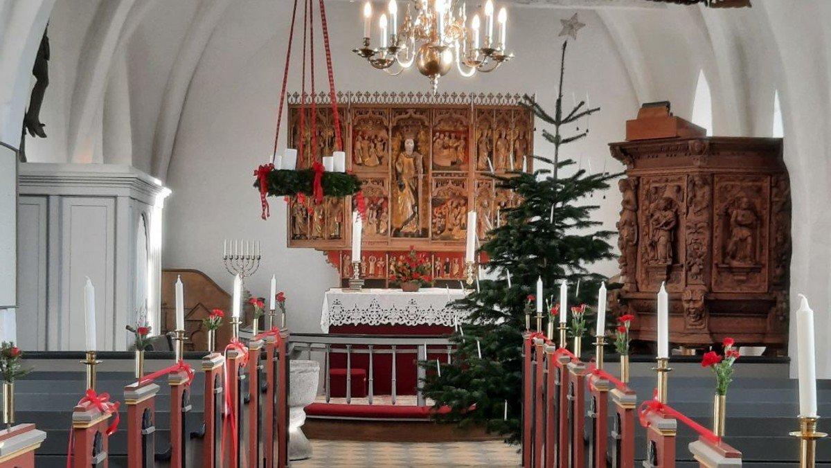 Julegudstjeneste i Sdr. Bjerge kirke d. 24.12 kl. 14.00