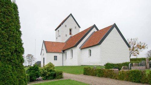Allehelgensgudstjeneste i Hyllebjerg Kirke