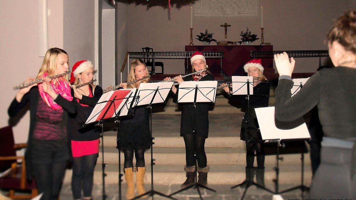 Adventskoncert med musikskolens elever