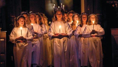 Godmorgen Lucia med Sankt Annæ Pigekor