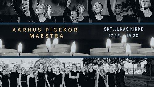 Julekoncert med Aarhus Pigekor og Maestra