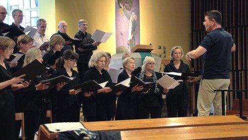 Gottesdienst m. Chor am Heiligabend