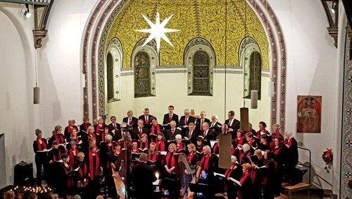 Weihnachtskonzert des Kantatenchores