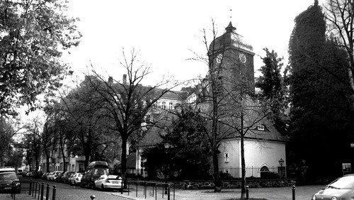Christvesper vor der Bethlehemskirche