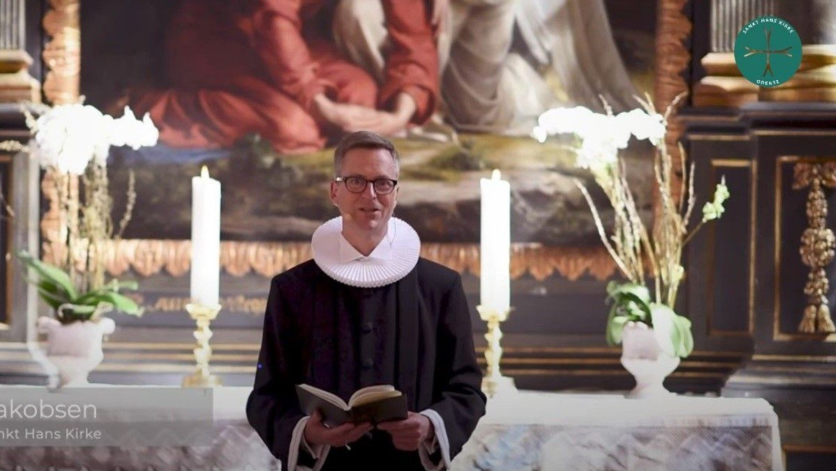 Gudstjeneste m. konfirmation v. Peter Ø. Jacobsen