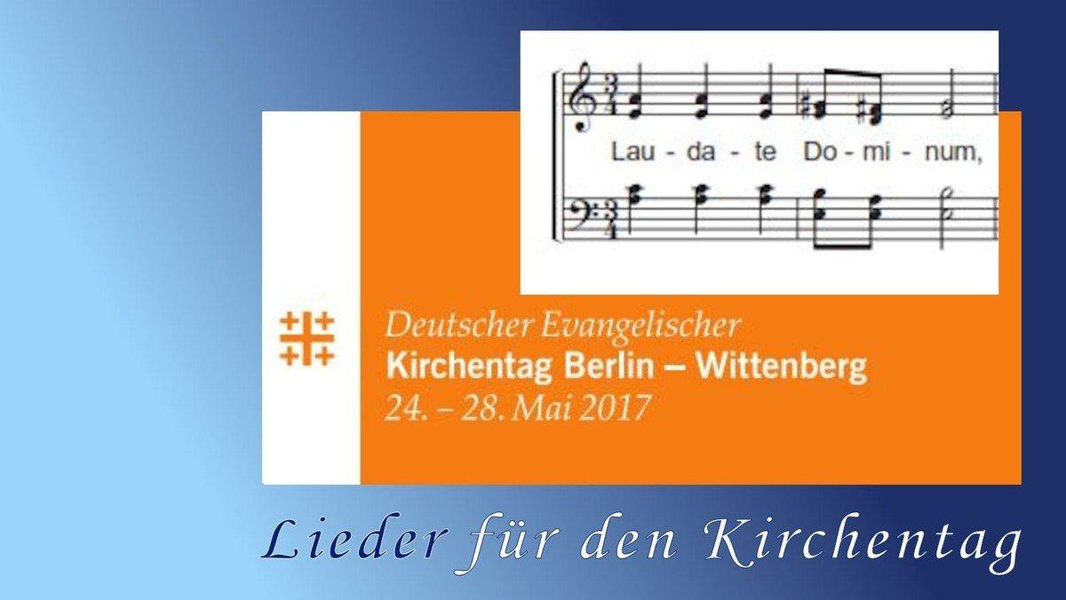 Lieder für den Kirchentag