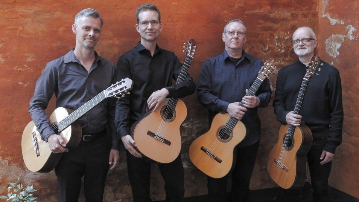 Corona Guitar Kvartet i Hjørring Sognegård
