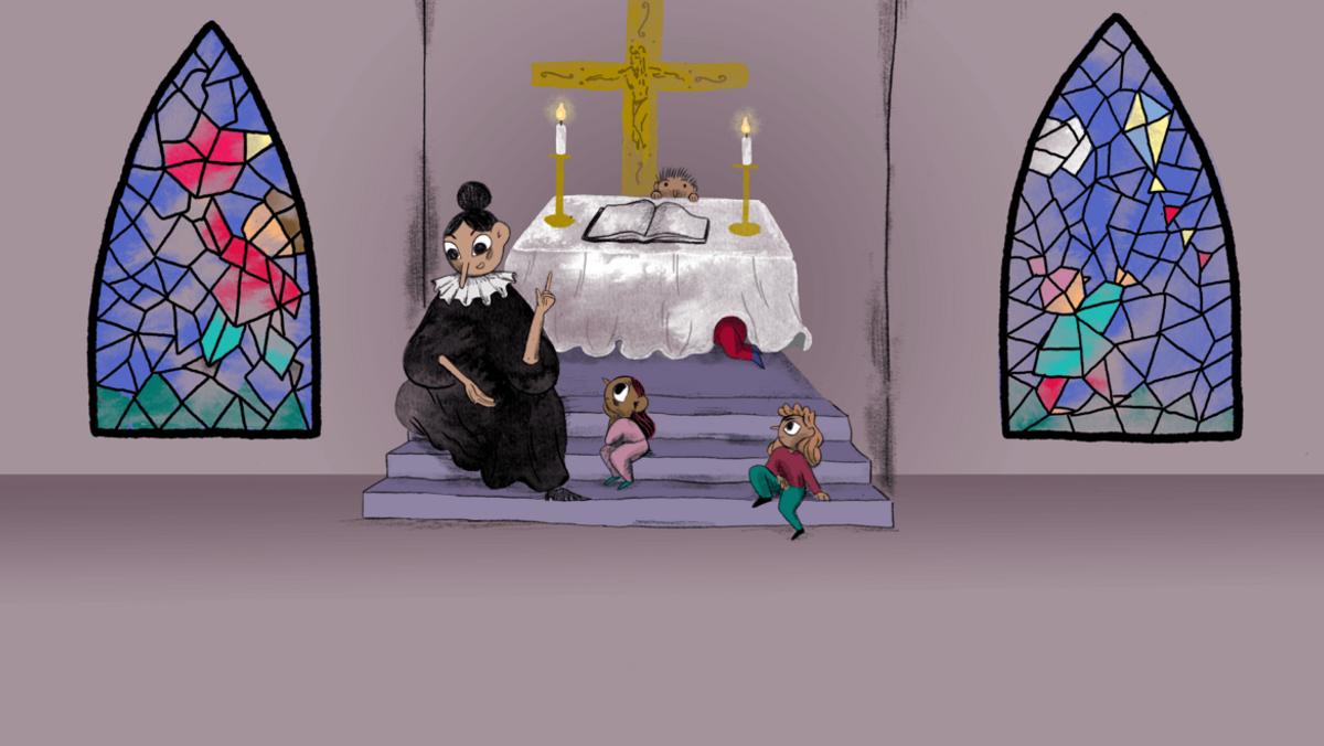 BUSK-gudstjeneste v. Jeanette Henriksø  m. 1 dåb