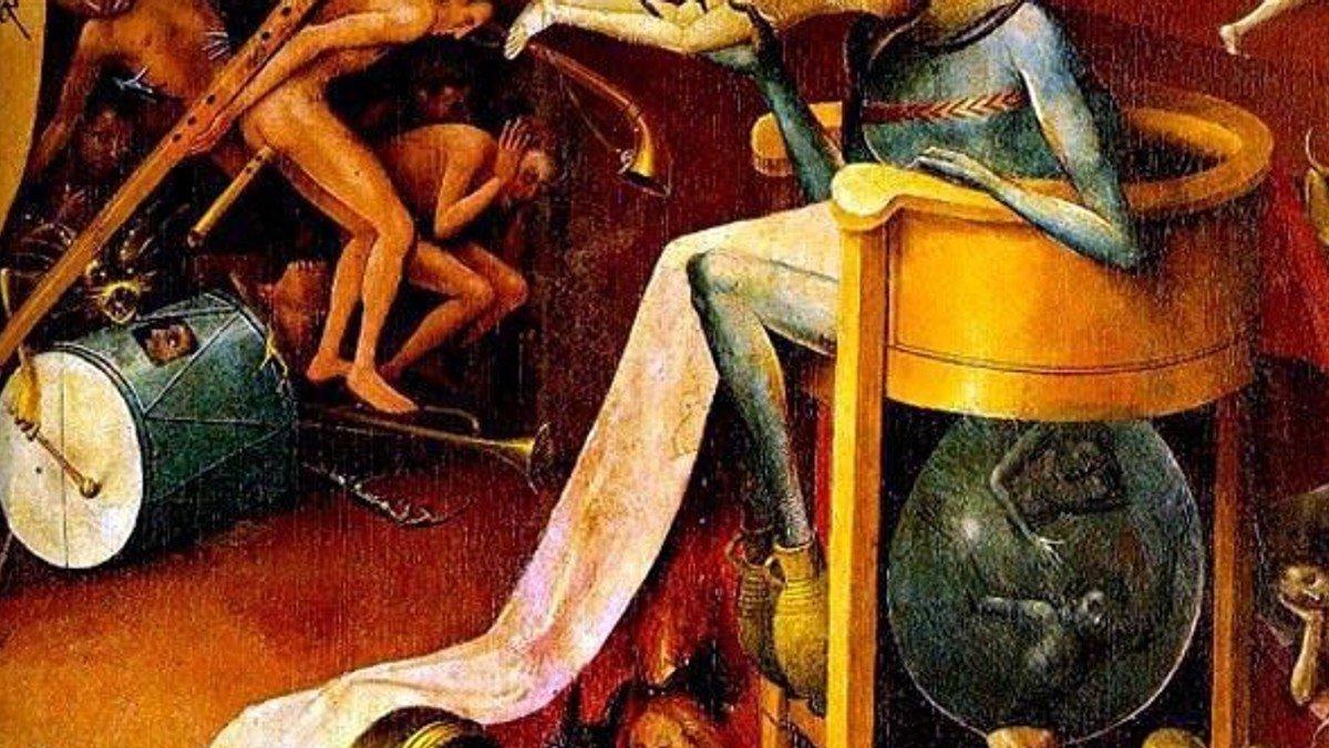Gottesdienst sɹǝpuɐ - Hölle