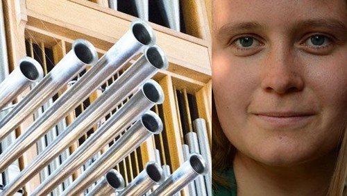 Sommerorgelkoncert med Amalie H. Kaad