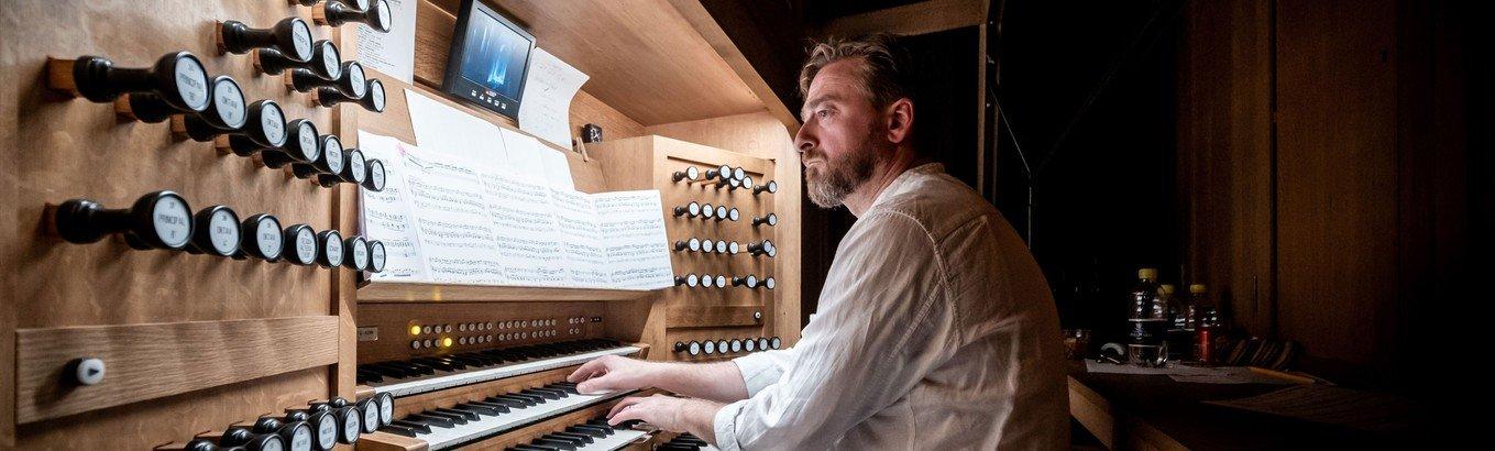 Orgelmesterkoncert - Mads Høck
