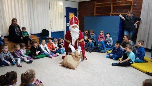Nikolaus-Besuch bei den Vormittagsgruppen KTS Lappenberg