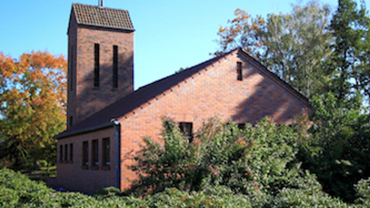 Gottesdienst (lt) mit Taufe