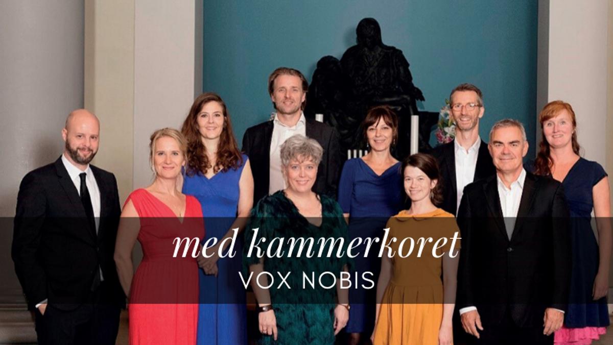 Højmesse i De Gamles Bys Kirke med 9 læsninger af Kammerkoret Vox Nobis