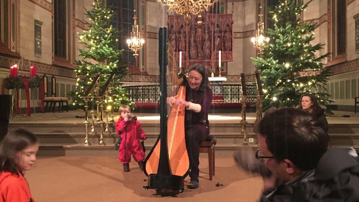 Julekalender - Harpespil ved Gabrielle Reger