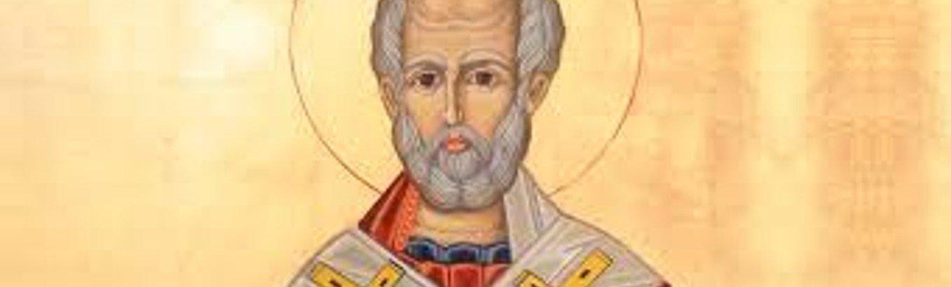 Nikolaus in der Kirche
