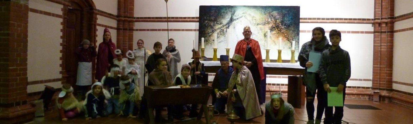 Christvesper mit Krippenspiel der Kinder I Heiligabend
