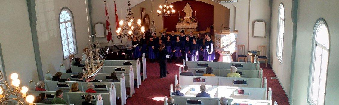 Tirsdagstræf: Med koret til Canada