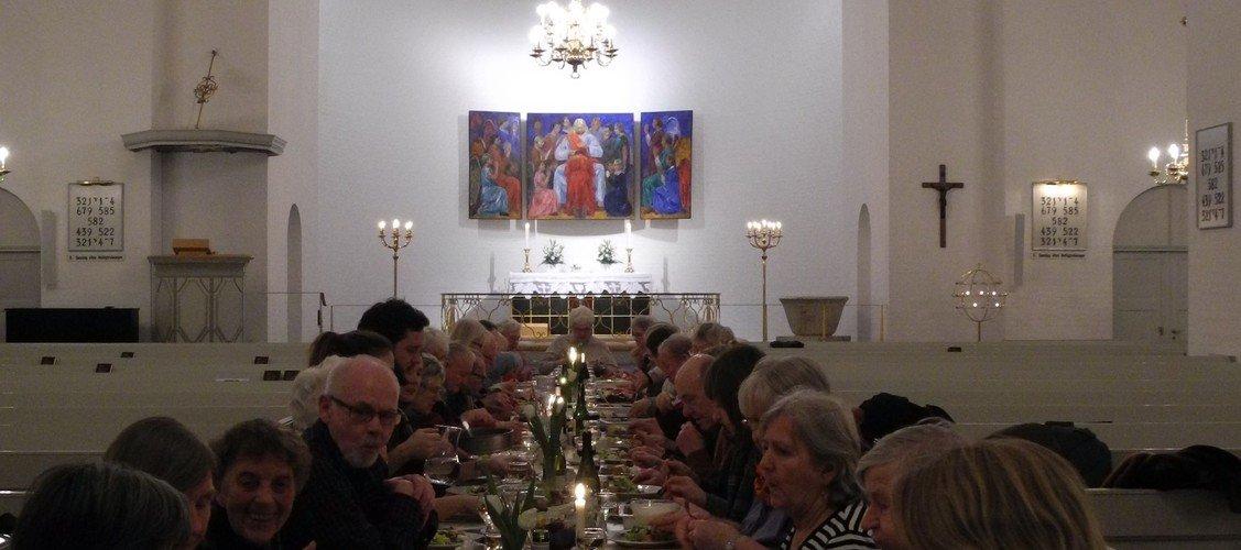 Aftenkirke for alle v. Lars Obel