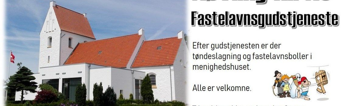 Nøvling kirke - Fastelavnsgudstjeneste