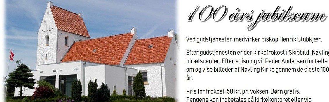 Nøvling kirke - 100 års jubilæumsgudstjeneste