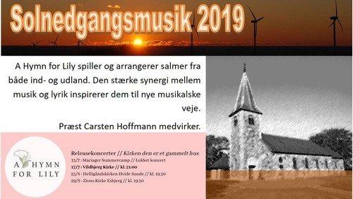 Vildbjerg kirke -  Solnedgangsmusik