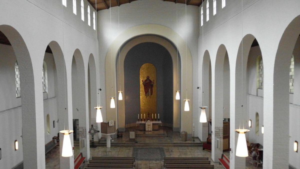 Feier der heiligen Osternach