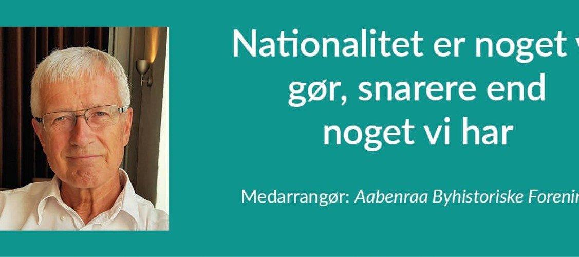 Sogneaften: Nationalitet er noget vi gør, snarere end noget vi har