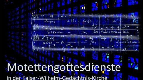 Motettengottesdienst mit Einführung von Pfarrerin Jutta Pfannkuch (Nur mit Anmeldung!)
