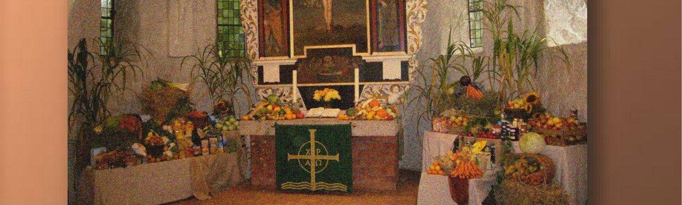 Wir feiern Kindererntedank in der Alt-Rahlstedter Kirche