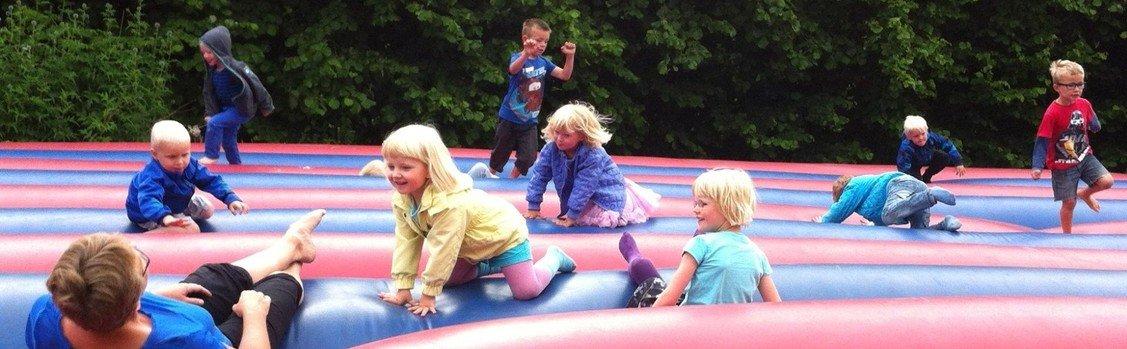 Dagpleje, vuggestue og børnehave i Præstegårdshaven