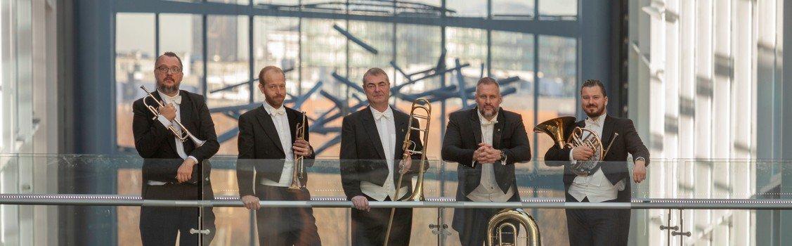 Nytårskoncert med Scandinavian Brass Quintet
