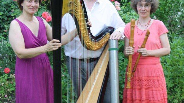 Herbstkonzert mit Orgel, Flöte und Harfe  in Konradshöhe