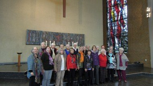 Frauenchor Christuskirche außer Haus