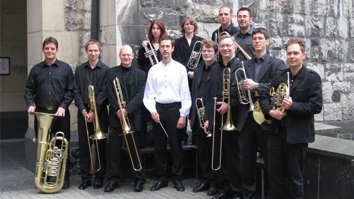 """Konzert """"Vom Himmel hoch"""",  Musik für Blechbläser mit dem Ensemble Jericho Brass unter der Leitung von Matthias Jann"""