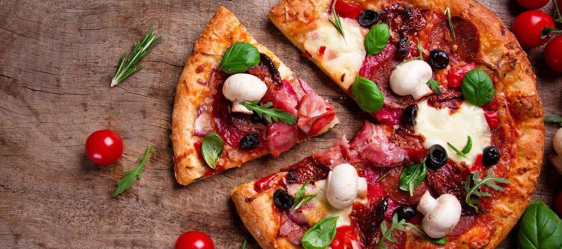 Pizzagudstjeneste i Nibe Kirke