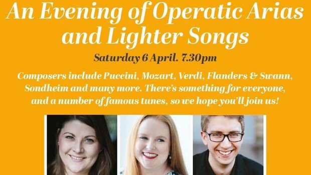 An Evening of Operatic  Arias & Lighter Songs