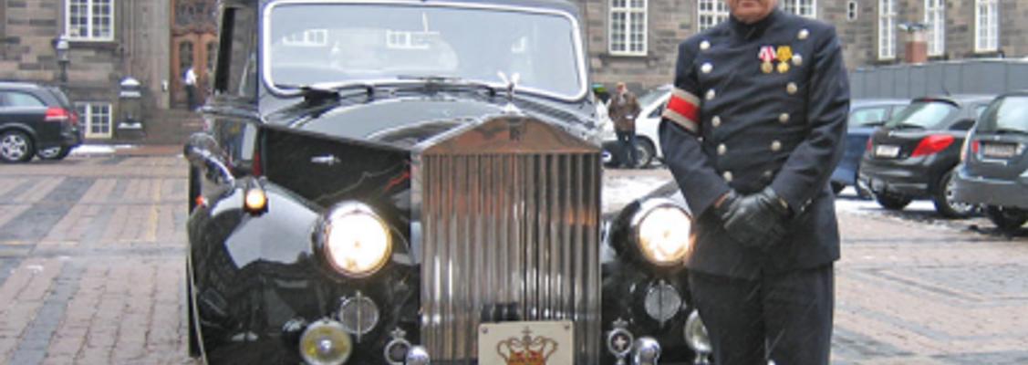 Fredagstræf: 20 år som kongelig chauffør