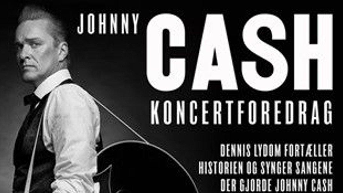 Koncert-foredrag om Johnny Cash