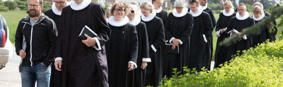 Friluftsgudstjeneste på Knabstrup Hovedgård for hele familien