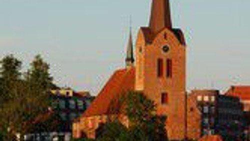 Tysk/dansk Osterfrühgottesdienst, Hauke Wattenberg und Merete Lei