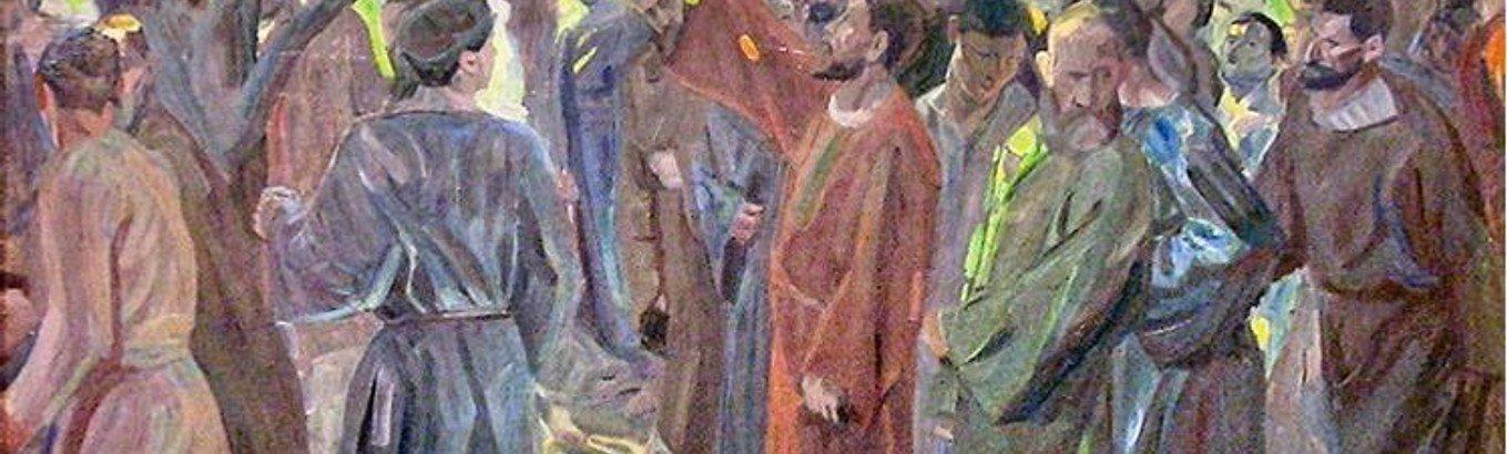 Fortællegudstjeneste i Klim Kirke med dåb