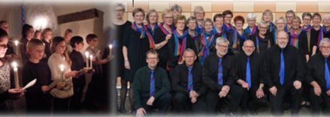 Julekoncert - Side By Side og Kirkekoret