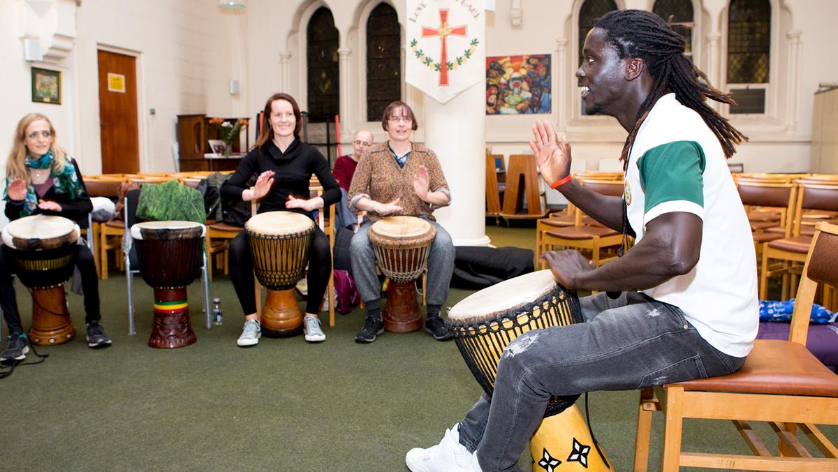 Begue Begue Drumming Group