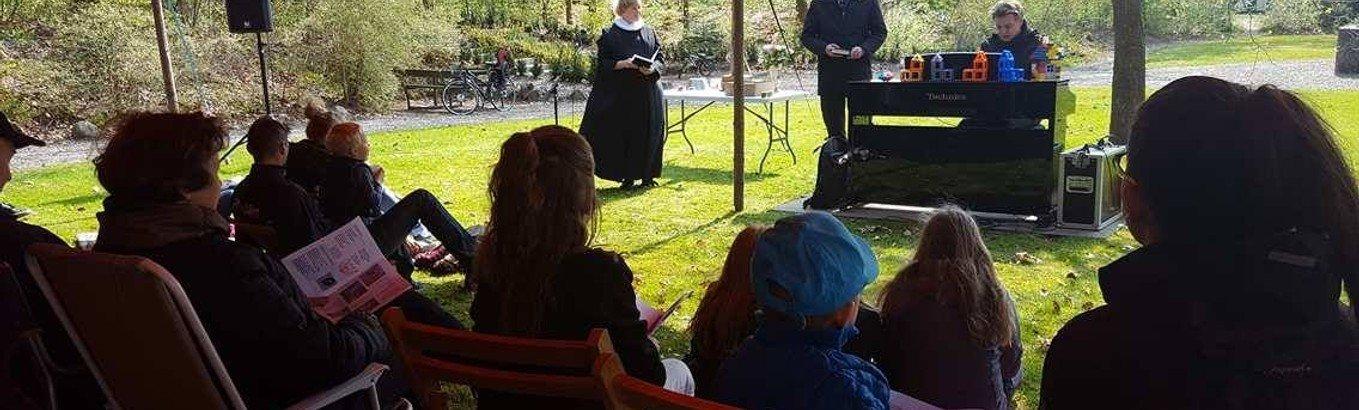 Kirkerod og familiegudstjeneste i Anlægget
