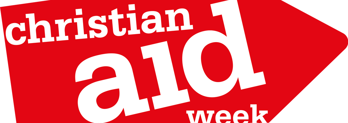 Christian Aid cafe and stalls