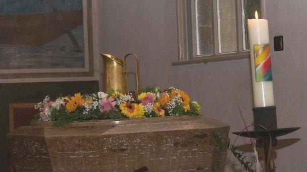 Gottesdienst mit Taufe in Konradshöhe