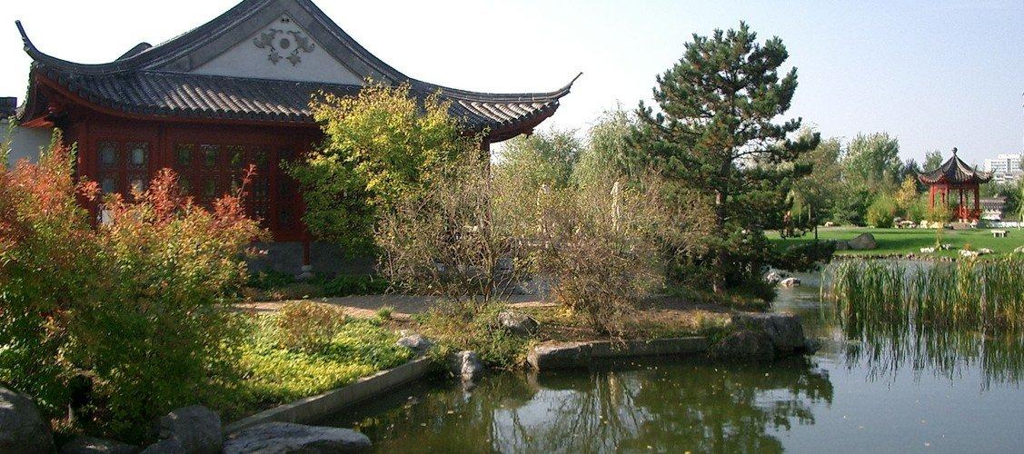 """""""Gärten der Welt mit Teezeremonie im Chinesischen Garten"""""""